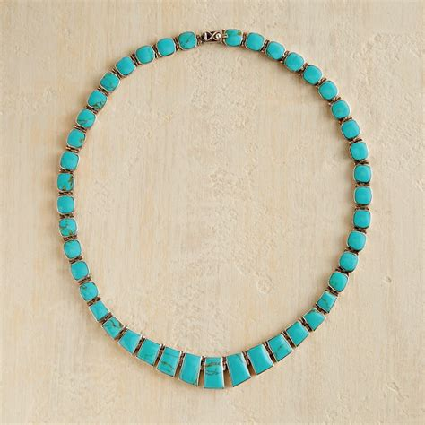 turquoise for jewelry chilean turquoise necklace national geographic store
