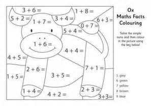 math coloring page free maths sheets coloring pages