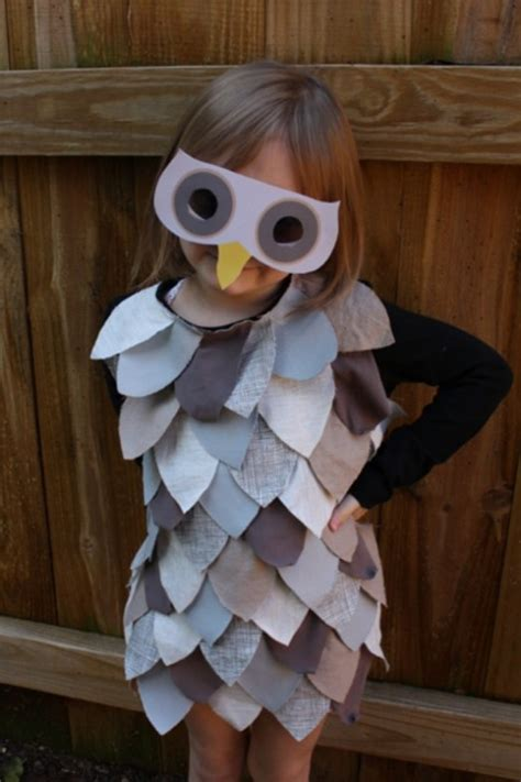 costumes for adults diy projects craft ideas diy last minute owl costume for kidsomania