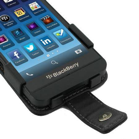 Flipcase Blackberry Z10 pdair leather flip for blackberry z10 black mobilezap australia