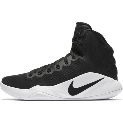 black and white basketball shoes nike hyperdunk 16 basketball shoe black black white