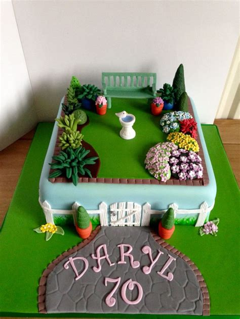 17 Best Images About Garden Cakes On Pinterest Gardens In The Garden Cake Ideas