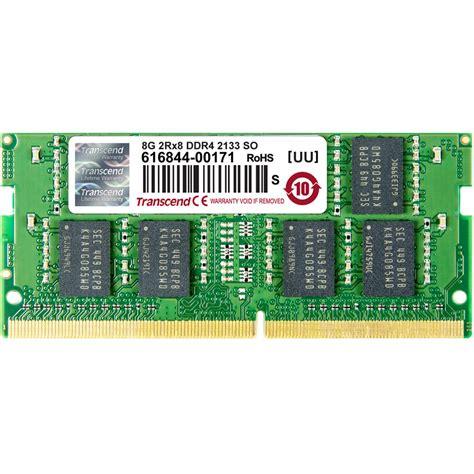 Sodimm V Ddr4 8gb Pc 17000 2133 Transcend 8gb Ddr4 2133 So Dimm Memory Module Ts1gsh64v1h B H