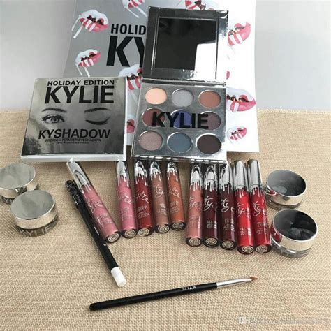christmas eyeliner sets 2017 newest big box makeup set lipstick eyeliner eyeshadow set jenner new