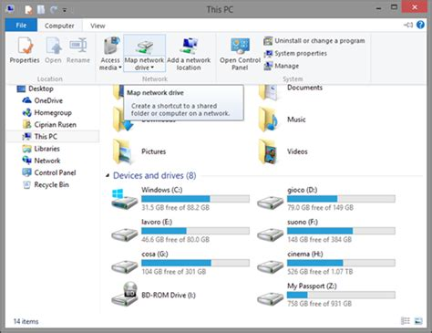 drive on pc windows networking how to work with network drives