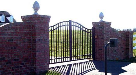 ornamental aluminum driveway gates in philadelphia