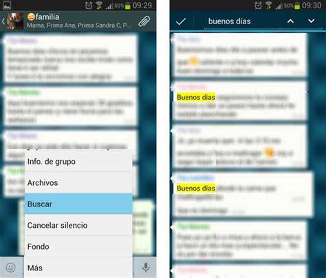 imagenes de cumpleaños whatsapp trucos para whatsapp c 243 mo buscar contactos y mensajes