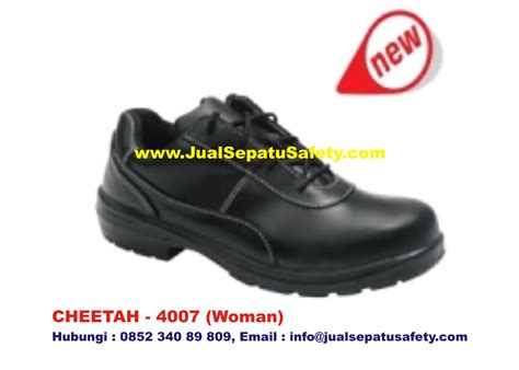 Sepatu Safety Cheetah Boot gudang supplier utama safety shoes cheetah 4007