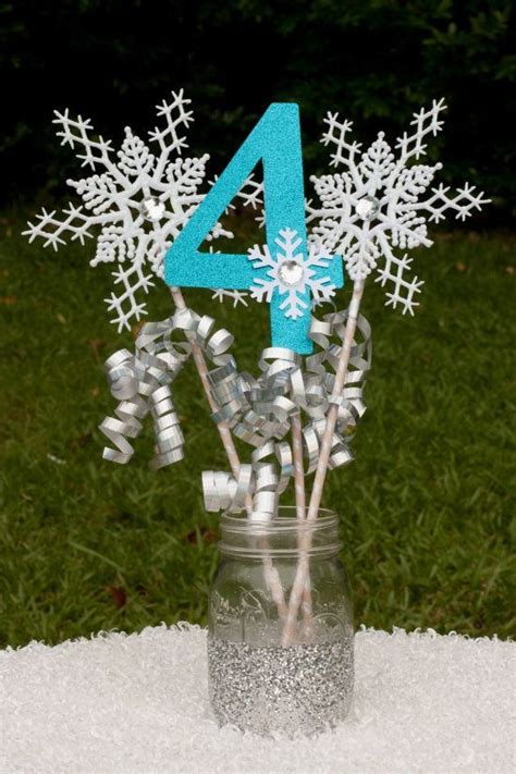 frozen table centerpieces centrepieces frozen party