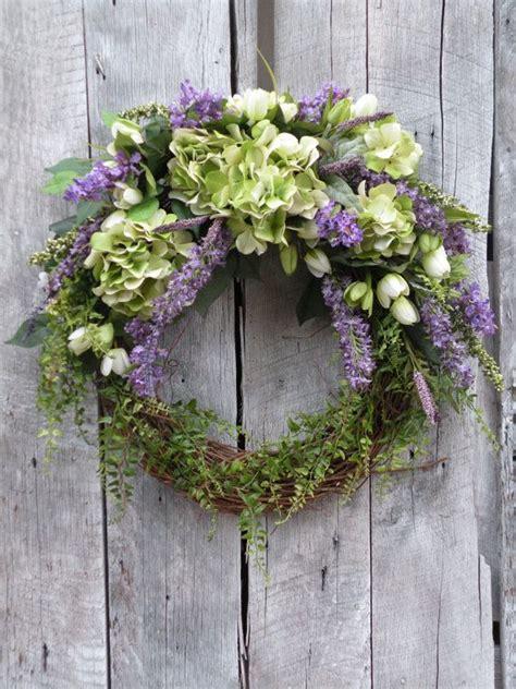 Hydrangea Wreaths For Front Door 17 Best Ideas About Hydrangea Wreath On Letter Door Wreaths Initial Wreath And Door