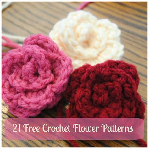 free pattern to crochet a flower 21 free crochet flower patterns daisy video