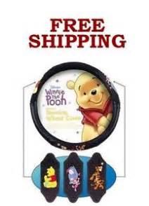 Steering Wheel Cover Winnie The Pooh New Disney Winnie The Pooh Tigger Eeyore Piglet