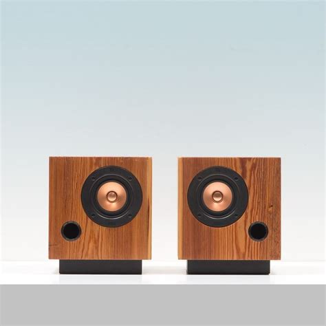 Beautiful Speakers by Wooden Antique Speakers Beautiful Cube Speakers