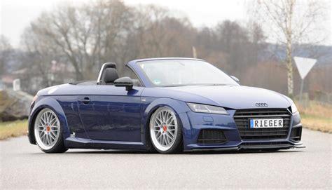 Audi Tt Tuner by Rieger Tuning F 252 R Das Neue Audi Tt Cabrio Eurotuner News