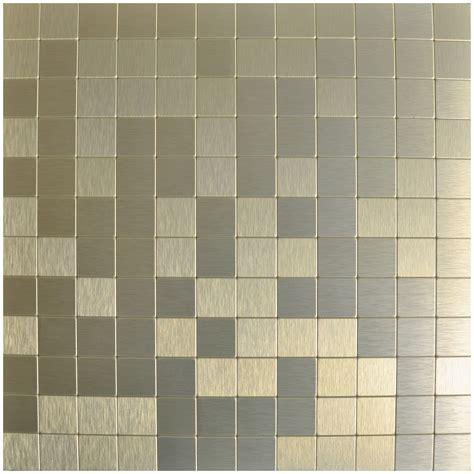 peel n stick tile backsplash peel n stick metal mosaic 10 sheets bronze square tiles 12x12in