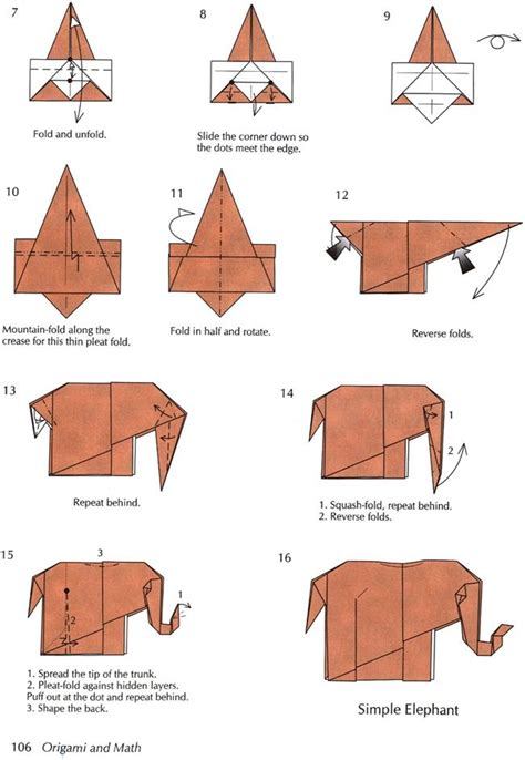 Simple Origami Elephant - 43 best images about origami on origami birds