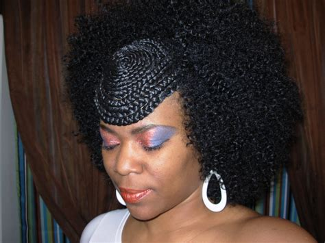 braiding short hair for sew in hairstyles with sew ins