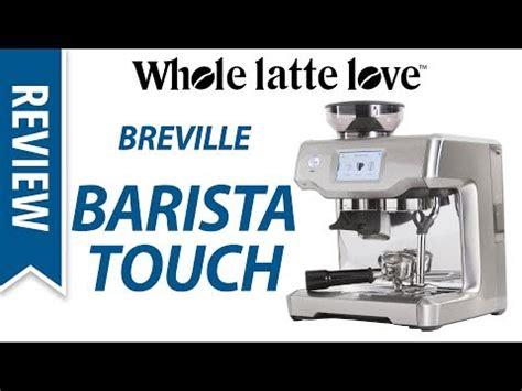 breville barista touch espresso maker breville oracle touch home espresso machine setup and