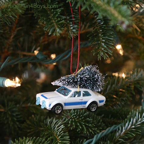 car with tree image bringing home the tree car ornament for to make