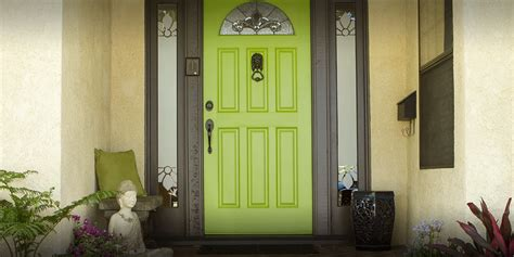 what paint finish for front door modern masters