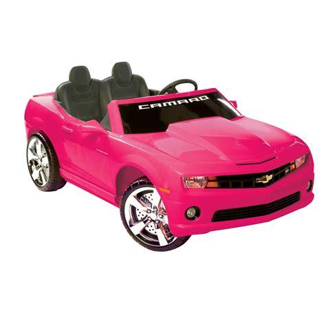 chevrolet camaro 2 seat ride on sports car car tots