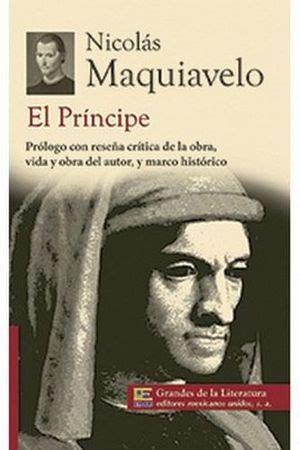 libro completo en pdf el principe de la niebla principe el 1 2 carta grandes de la literatura nva present maquiavelo nicolas 9786071411570