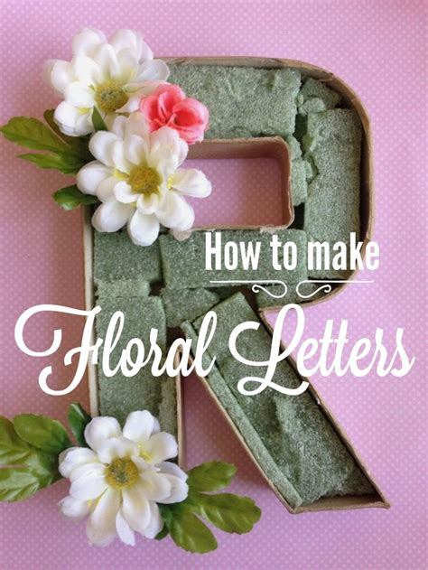 easy to make bridal shower favors best 25 flower letters ideas on letter