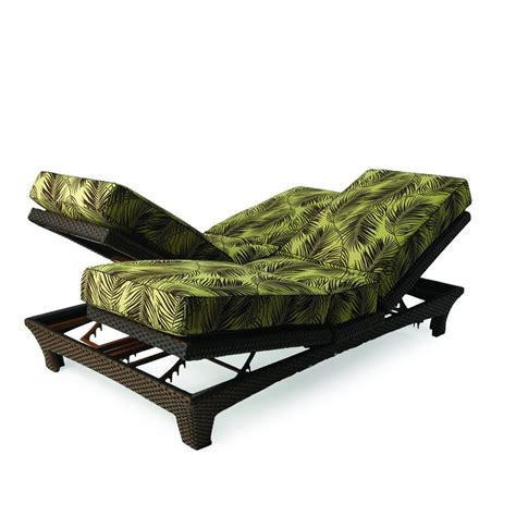 lloyd flanders chaise lounge lloyd flanders wicker sunchaser adjustable double chaise