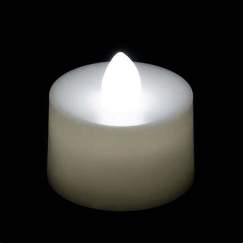battery tea light candles battery operated tea light candle white