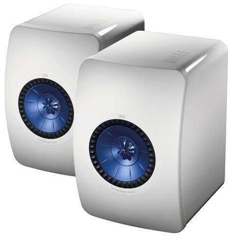 Kef Ls50 Mini Monitor Gloss White Pair kef ls50 5 25 quot 2 way mini monitor gloss white pair accessories4less