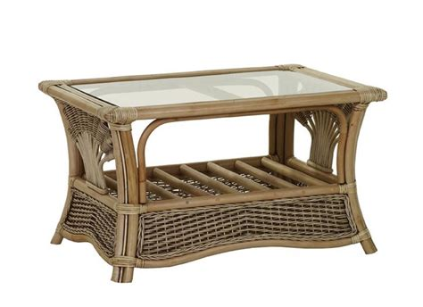 Rattan and glass coffee table coffee table design ideas