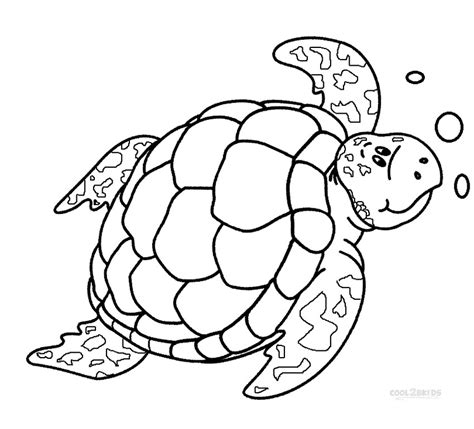 turtles free colouring pages