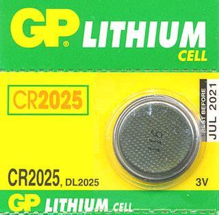 Gp Baterai Cr2025 Battery Batre Lithium Cr2025 1 gp cr2025 lithium 3v button cell battery shop