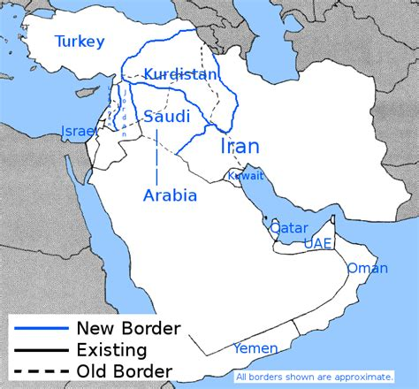 middle east map redrawn illegal knowledge everything we should known but