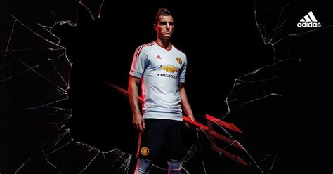 wallpaper adidas manchester united adidas reveal the new manchester united away kit for 2015