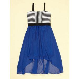 Blouse Atasan Blue Stripe Flowy Hv blue flowy bottom and black and white striped top sally miller dress