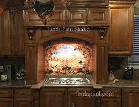 Kitchen Tile Murals Tile Art Backsplashes italian tile murals tuscany backsplash tiles