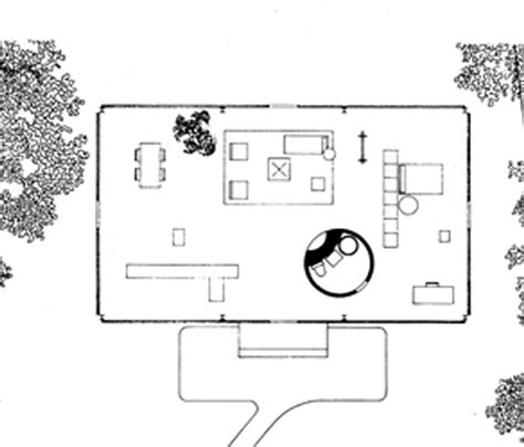 Philip Johnson Glass House Floor Plan | the lying truth
