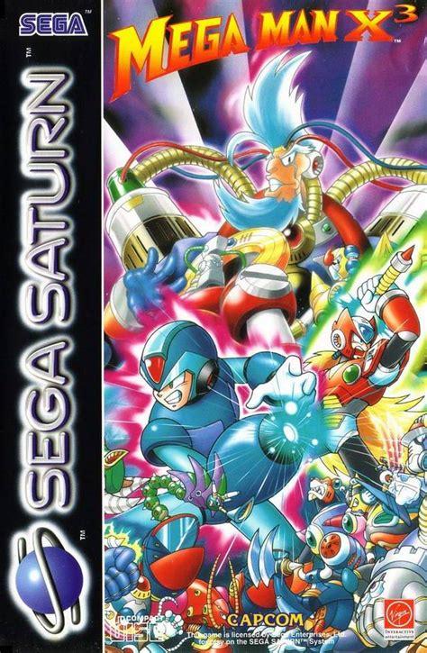 megaman x3 mega x3 box for saturn gamefaqs