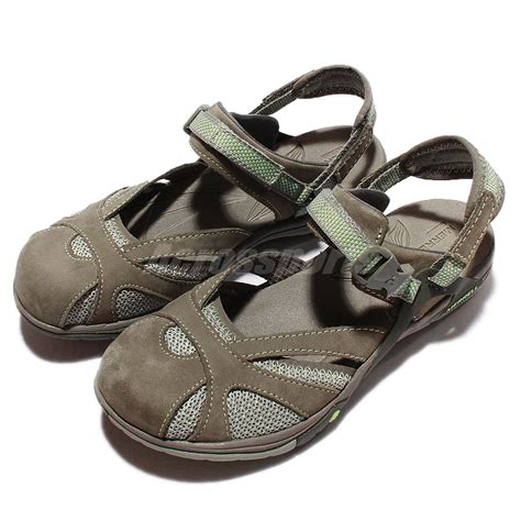 waterproof sandals merrell azura wrap waterproof green grey womens outdoors
