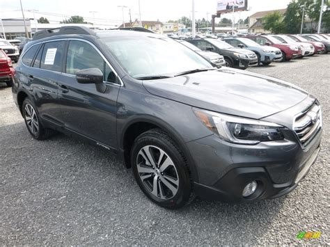 subaru metallic 2018 magnetite gray metallic subaru outback 2 5i limited