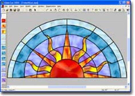 stained glass pattern design software dragonfly software stained glass software and patterns