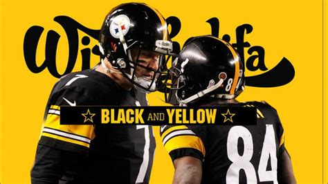 pittsburgh steelers black and yellow steeler nation