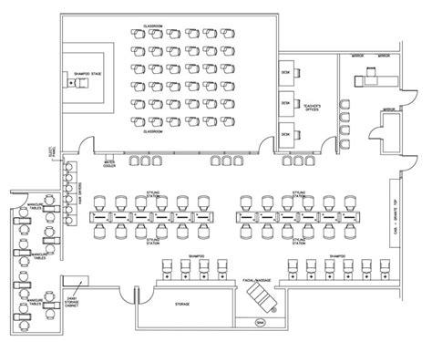 barbershop floor plan layout technical school floor plan design layout 4040 square foot