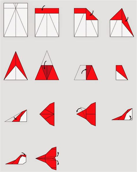 Steps To Make Paper Plane - how to make origami planes step by step origami