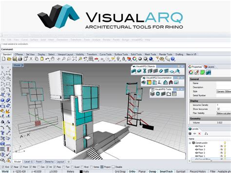 VisualARQ ? 3D Architecture for Rhino   KeeraTech