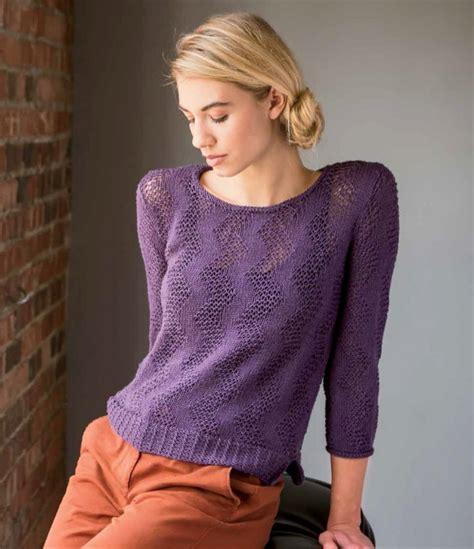 knit mesh sweater pattern zigzap mesh pullover knitting pattern download pullover