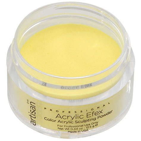 acrylic color powder artisan color acrylic nail powder yellow