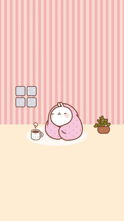wallpaper cute molang molang wallpaper tumblr