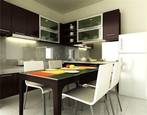 contoh desain dapur  simple  menarik rumah minimalis rumah minimalis